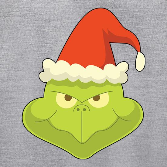 grinch face : you will actually be excited to wear these