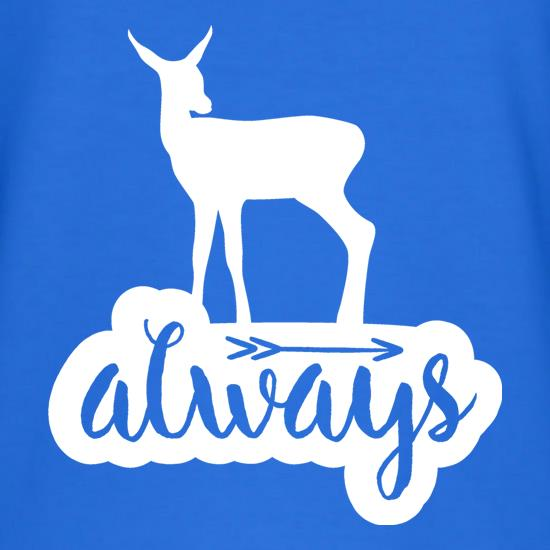 Always Deer t shirt