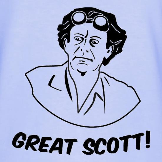 Great Scott t shirt