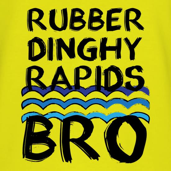 Rubber Dinghy Rapids t shirt
