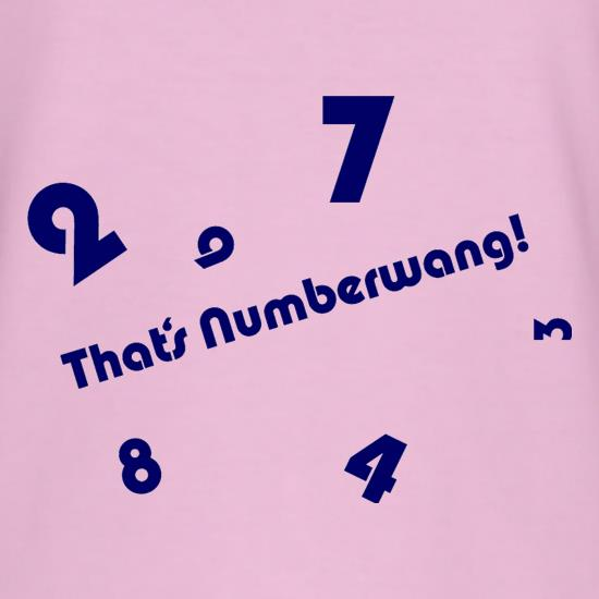 That's Numberwang t shirt