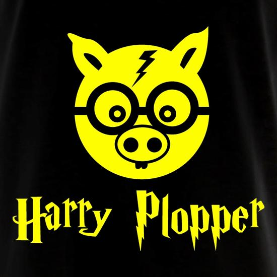 Harry Plopper Long Sleeve T Shirt By Chargrilled