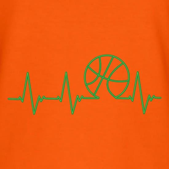 Basketball Heartbeat t shirt