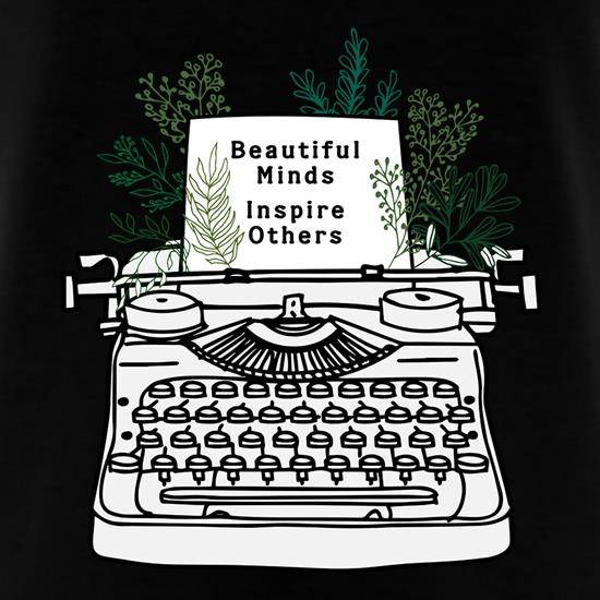 Beautiful Minds Inspire Others t shirt