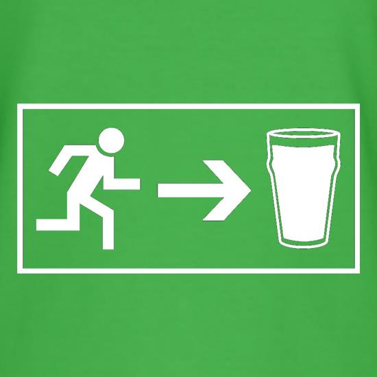 Beer Exit t shirt