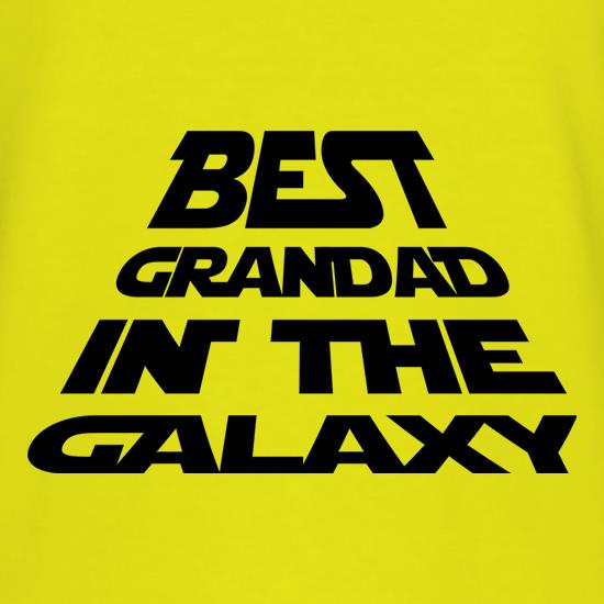 Best Grandad In The Galaxy t shirt