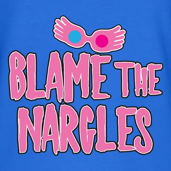 Blame The Nargles t shirt