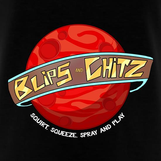 Blipz and Chitz t shirt