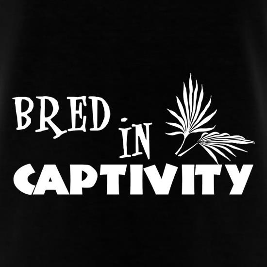 Bred In Captivity t shirt