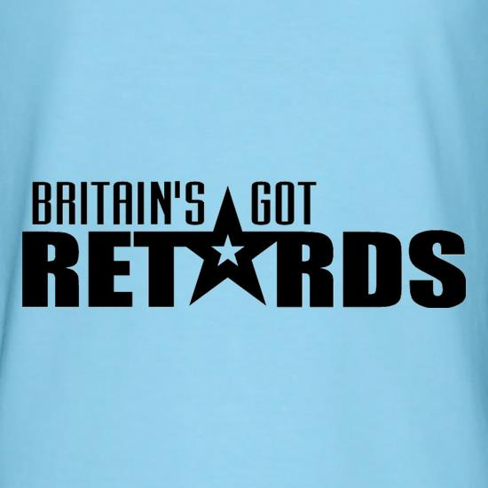 Britain's Got Retards t shirt