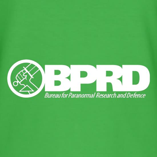 Bureau for Paranormal Research and Defense - Hellboy t shirt
