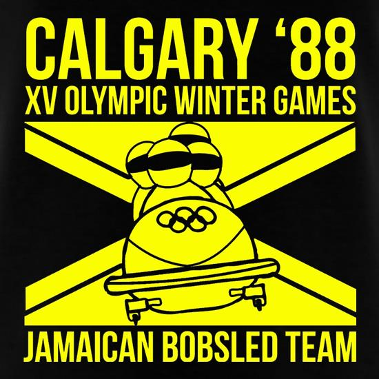 Calgary 88 Jamaican Bobsleigh Team t shirt