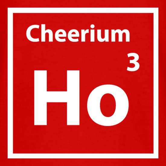 Christmas Element Cheerium Ho Ho Ho t shirt