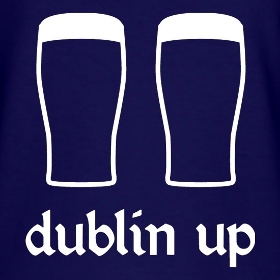 Dublin Up t shirt