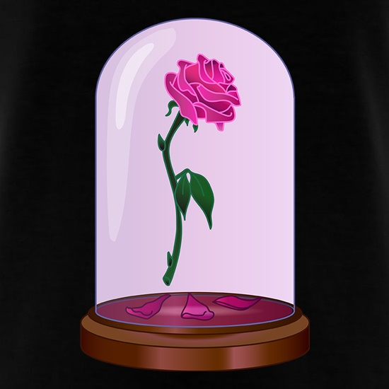 Enchanted Rose t shirt