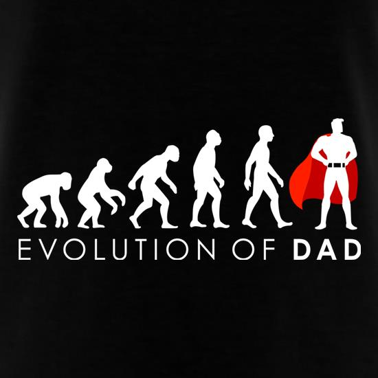 Evolution Of Dad t shirt