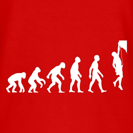 Evolution Of Man Rock Climbing t shirt