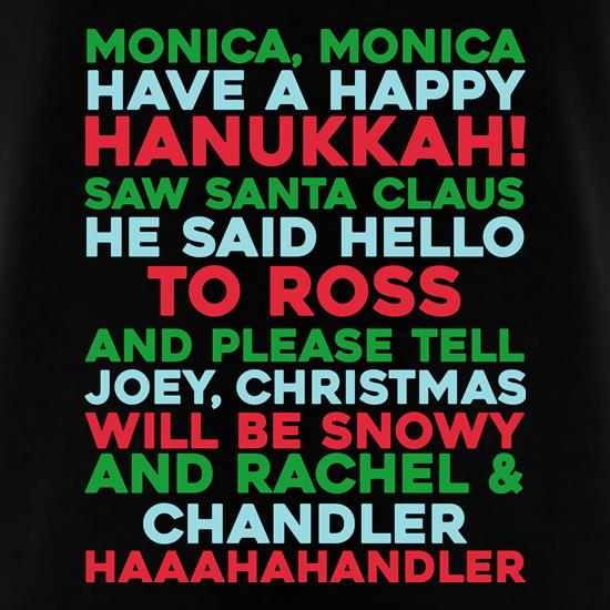 Friends Christmas Song t shirt