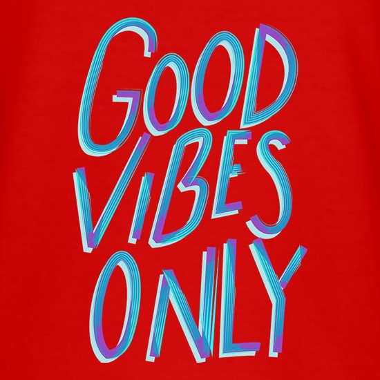Good Vibes Only t shirt