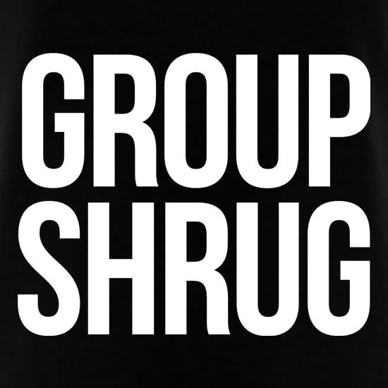 Group Shrug t shirt