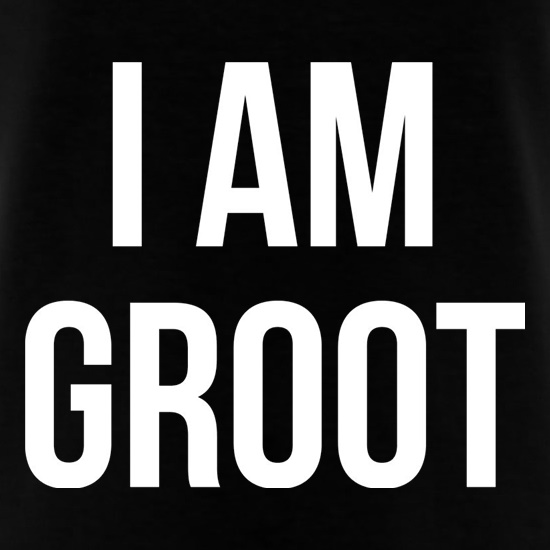I Am Groot t shirt