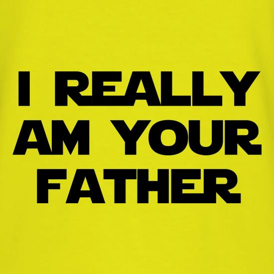 i really am your father t shirt