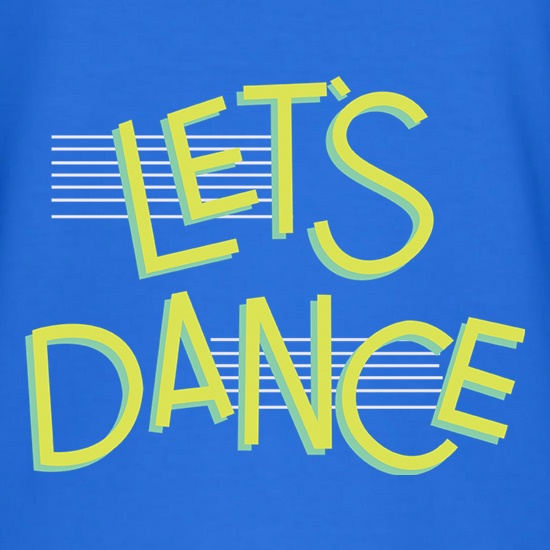 Let's Dance t shirt
