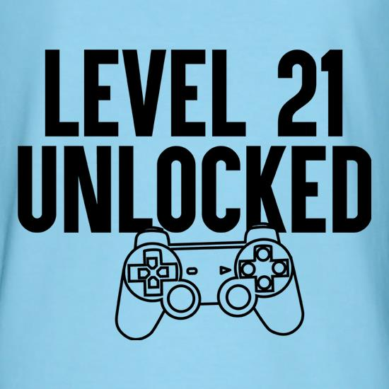 Level 21 Unlocked t shirt