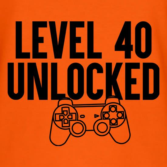 Level 18 Unlocked T Shirt By Chargrilled