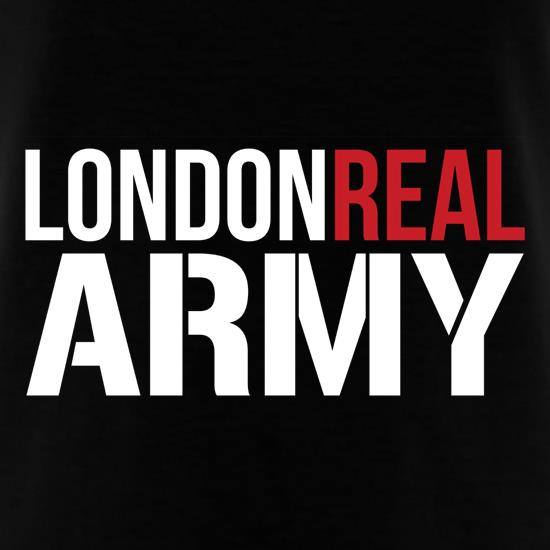 London Real Army t shirt