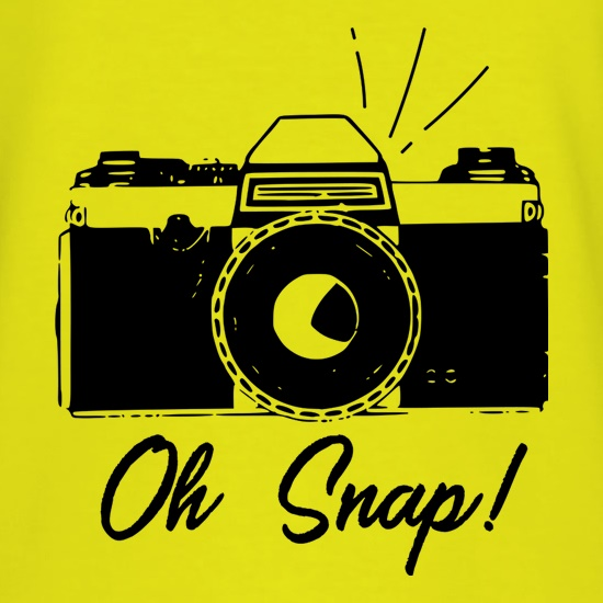 Oh Snap! t shirt