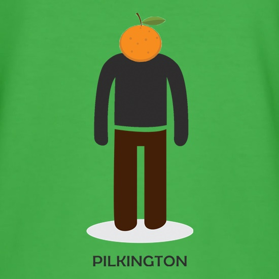 Orange Pilkington t shirt
