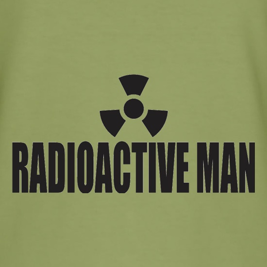 Radioactive Man t shirt