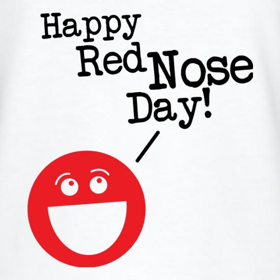 Happy Red Nose Day t shirt