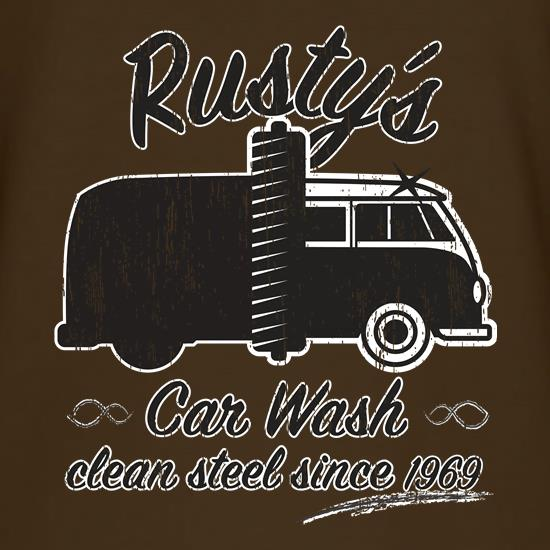 Rustys Car Wash t shirt