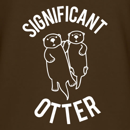 Significant Otter t shirt