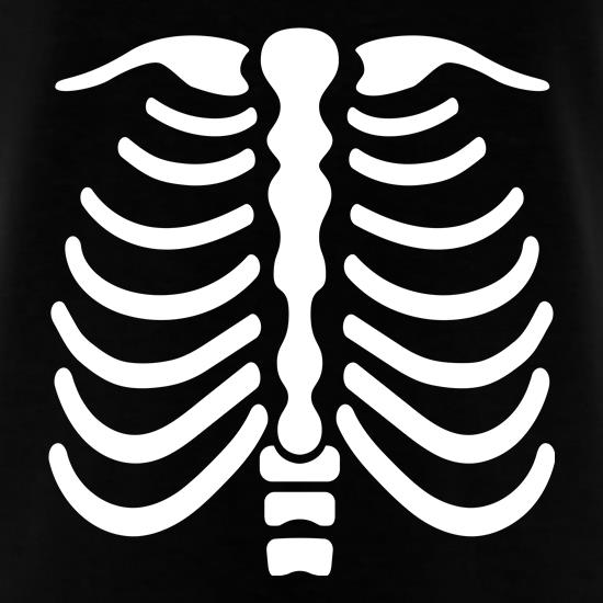Skeleton Chest t shirt