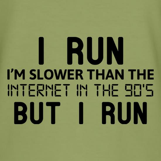 Slower Than The Internet t shirt