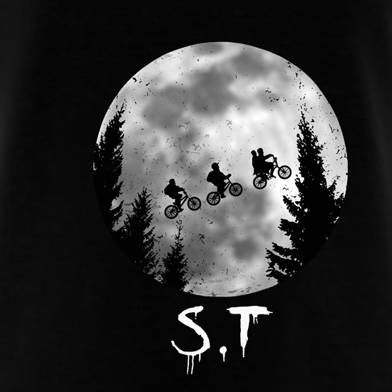Stranger Things Moon t shirt