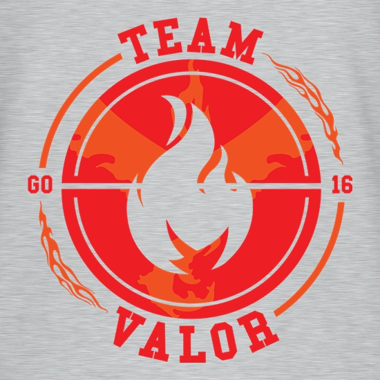Team Valor GO t shirt
