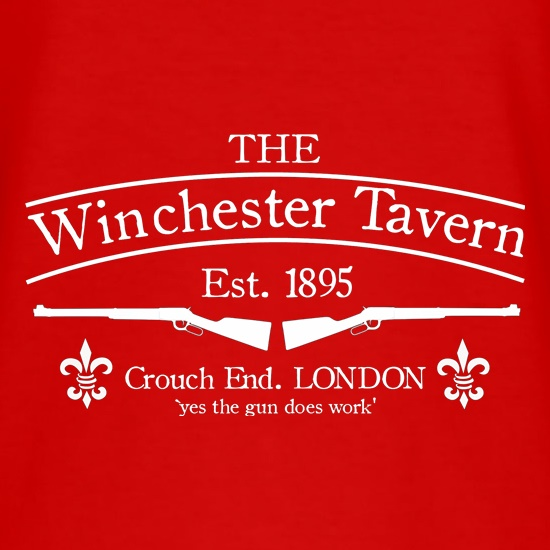 The Winchester Tavern- Shaun of the Dead t shirt