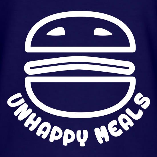Unhappy Meals t shirt