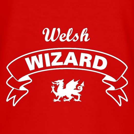Welsh Wizard t shirt