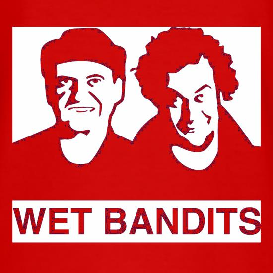 Wet Bandit Wanted Poster t shirt