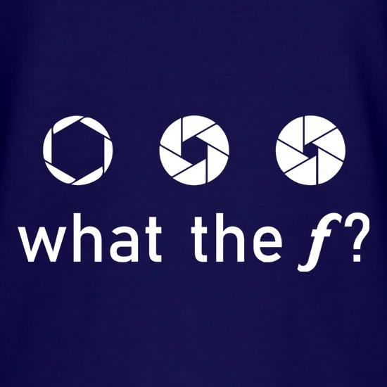 What The F? t shirt