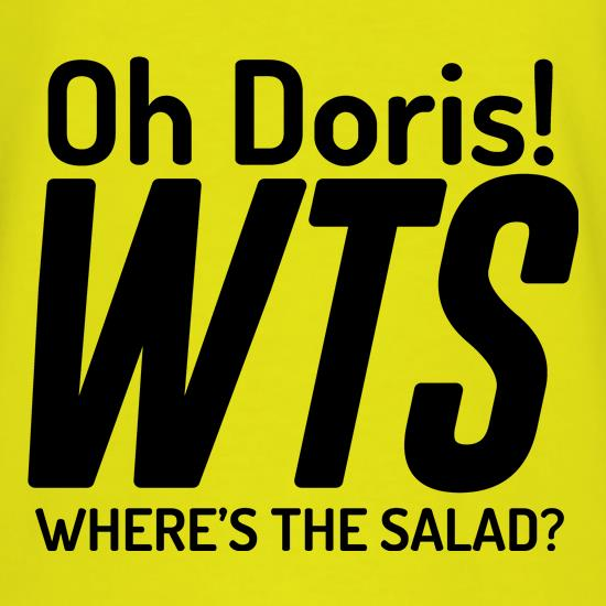 Where's The Salad? t shirt