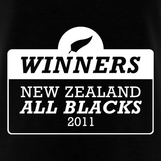 Winners New Zealand All Blacks t shirt